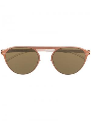 Солнцезащитные очки Paulin Mykita. Цвет: золотистый