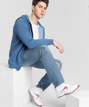 Прямые премиум-джинсы O`Stin. Цвет: голубой