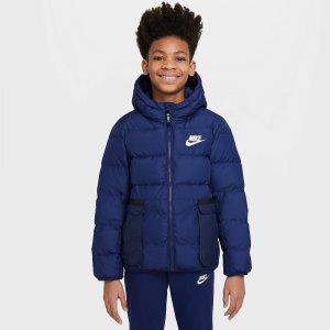 Terma-Fit Downfill Jacket Nike. Цвет: синий
