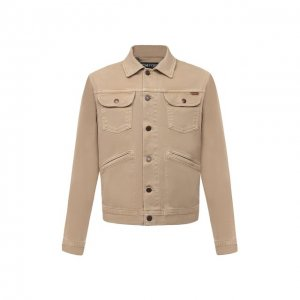 Джинсовая куртка Tom Ford. Цвет: бежевый
