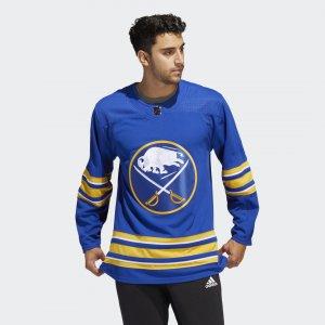 Оригинальный хоккейный свитер Sabres Home Performance adidas. Цвет: none