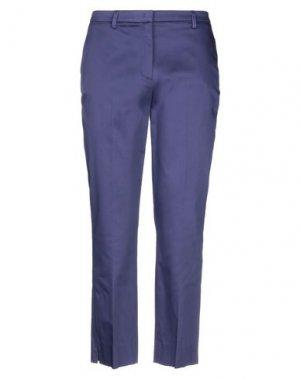Повседневные брюки CAVALLI CLASS. Цвет: фиолетовый