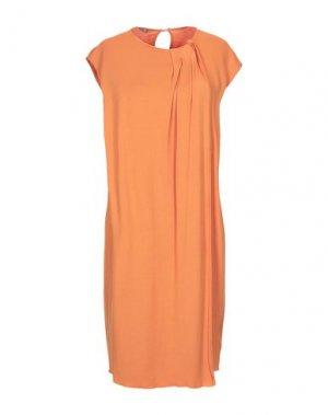 Короткое платье HENRY COTTON'S. Цвет: оранжевый