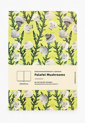 Блокнот Falafel. Цвет: зеленый