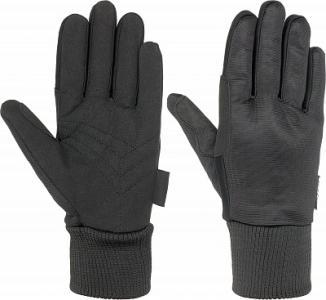 Перчатки , размер 6 IcePeak. Цвет: черный
