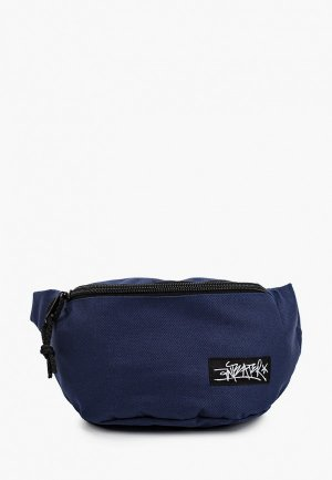 Сумка поясная Anteater waist.bag-light_navy. Цвет: синий