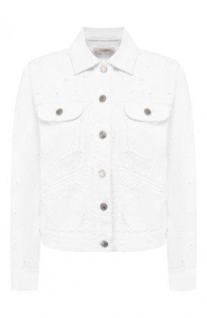 Джинсовая куртка Isabel Marant Etoile. Цвет: белый