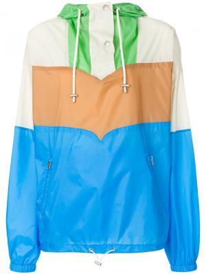 Куртка-ветровка Cyriel Isabel Marant Étoile. Цвет: синий