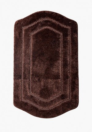 Коврик для ванной Shahintex РREMIUM SH. Цвет: коричневый