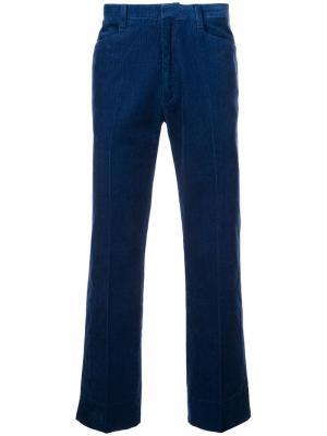 Вельветовые брюки прямого кроя
