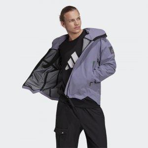 Куртка-дождевик MYSHELTER Performance adidas. Цвет: синий