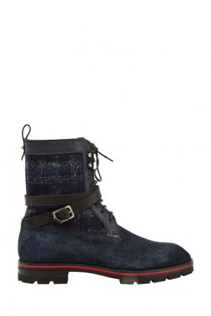 Ботинки Safacroc Christian Louboutin. Цвет: синий