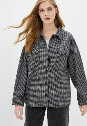 Рубашка UNQ. Цвет: серый