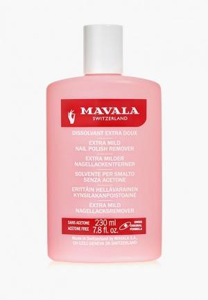 Средство для снятия лака Mavala профессиональное Розовая Nail Polish Remover Pink, 230 мл. Цвет: прозрачный
