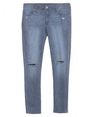 Джинсовые брюки DL1961. Цвет: серый