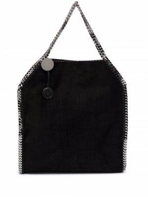 Большая сумка-тоут Falabella Stella McCartney. Цвет: черный