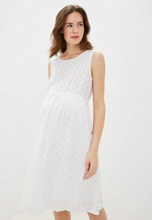Платье BuduMamoy. Цвет: белый