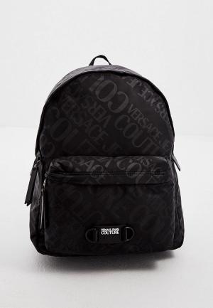 Рюкзак Versace Jeans Couture. Цвет: черный
