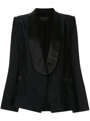 Пиджак-смокинг Vista Karen Walker. Цвет: черный