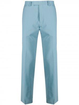 Строгие брюки Sandro Paris. Цвет: синий