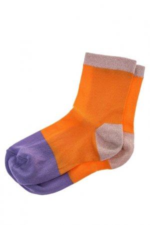 Носки HAPPY SOCKS. Цвет: мультицвет, оранжевый
