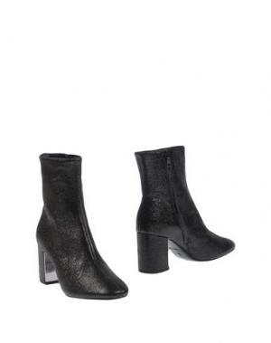 Полусапоги и высокие ботинки ROBERTO FESTA. Цвет: стальной серый