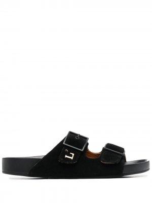 LAutre Chose сандалии с пряжками L'Autre. Цвет: черный