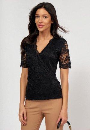 Блуза Lussotico. Цвет: черный