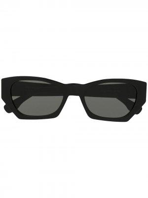 Солнцезащитные очки в геометричной оправе Retrosuperfuture. Цвет: черный