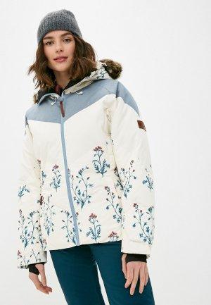 Куртка сноубордическая Billabong DAYTIME PUFFER JKT. Цвет: белый