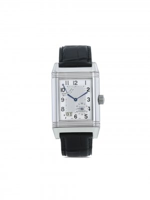 Наручные часы Reverso pre-owned 29 мм 2000-х годов Jaeger-LeCoultre. Цвет: черный