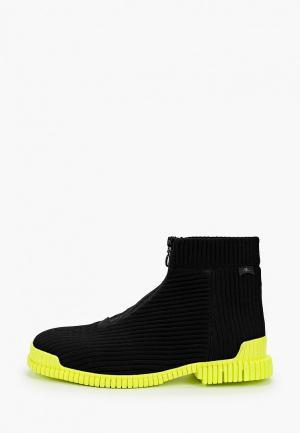 Ботинки Camper Pix. Цвет: черный
