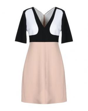 Короткое платье AQUILANO-RIMONDI. Цвет: телесный