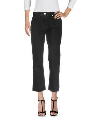 Джинсовые брюки ANNARITA N TWENTY 4H. Цвет: черный