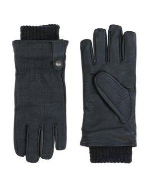 Перчатки PAUL & SHARK. Цвет: стальной серый