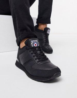 Черные кроссовки -Черный Lambretta
