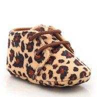 Ботиночки со шнуровкой R baby. Цвет: леопардовый рисунок