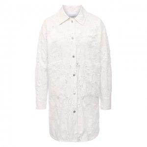 Джинсовая куртка Forte Dei Marmi Couture. Цвет: белый