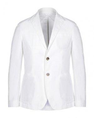 Пиджак ALESSANDRO GILLES. Цвет: белый