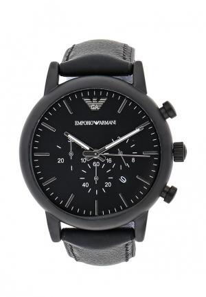 Часы Emporio Armani AR1970. Цвет: черный