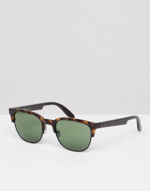 Солнцезащитные очки в квадратной оправе -Черный Carrera