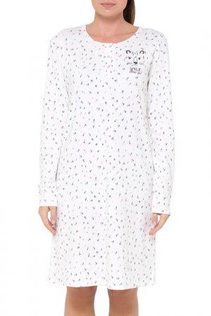 Платье Trikozza. Цвет: пятна леопарда, сахар