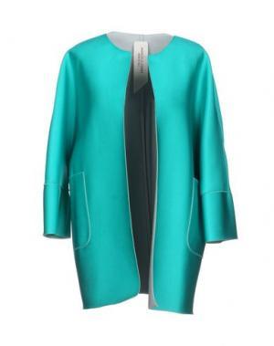 Легкое пальто MANUELA CONTI. Цвет: зеленый