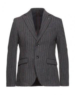 Пиджак OFFICINA 36. Цвет: свинцово-серый