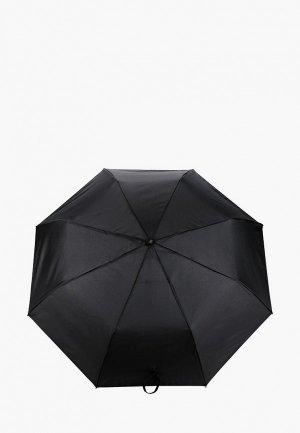 Зонт складной Zemsa. Цвет: черный
