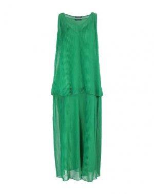 Длинное платье ANDREA TURCHI. Цвет: зеленый