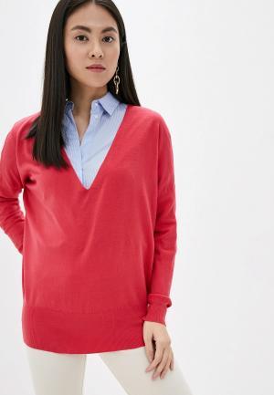 Пуловер By Swan. Цвет: розовый