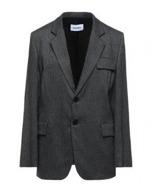 Пиджак HACHE. Цвет: стальной серый