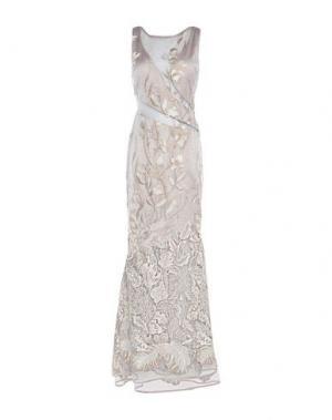 Длинное платье EDAS. Цвет: бежевый
