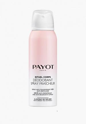 Дезодорант Payot Corps замедляющий рост волос, 125 мл. Цвет: прозрачный